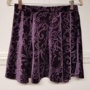 Forever 21 Size Large Flocked Skirt